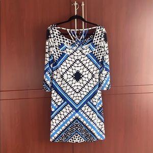 Colorful Jessica Simpson dress - size 8